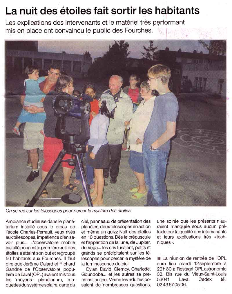 ouest france 5 aout 06 bdef